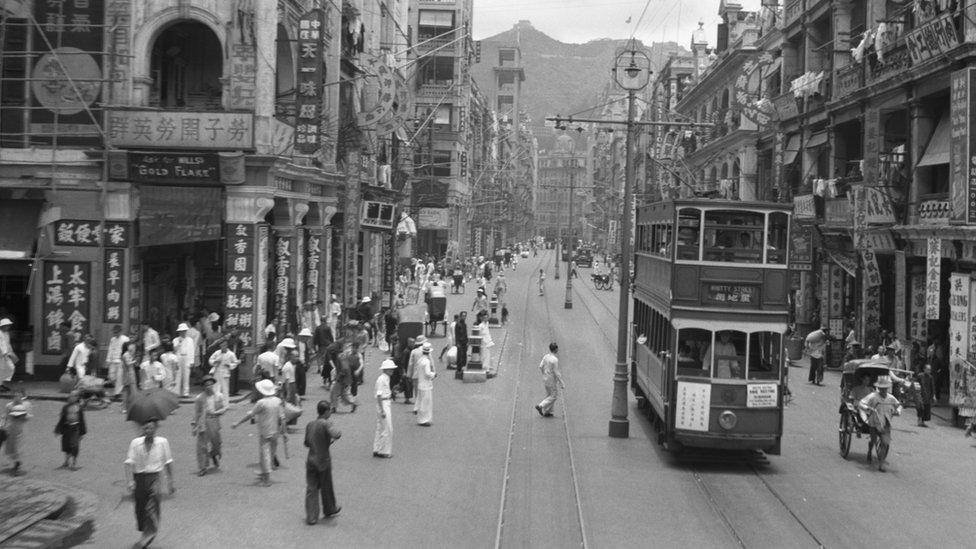 1940年代香港德輔道中
