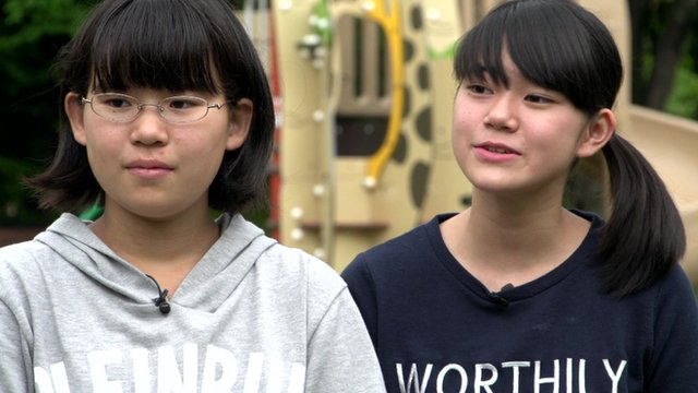 Girls in Japan