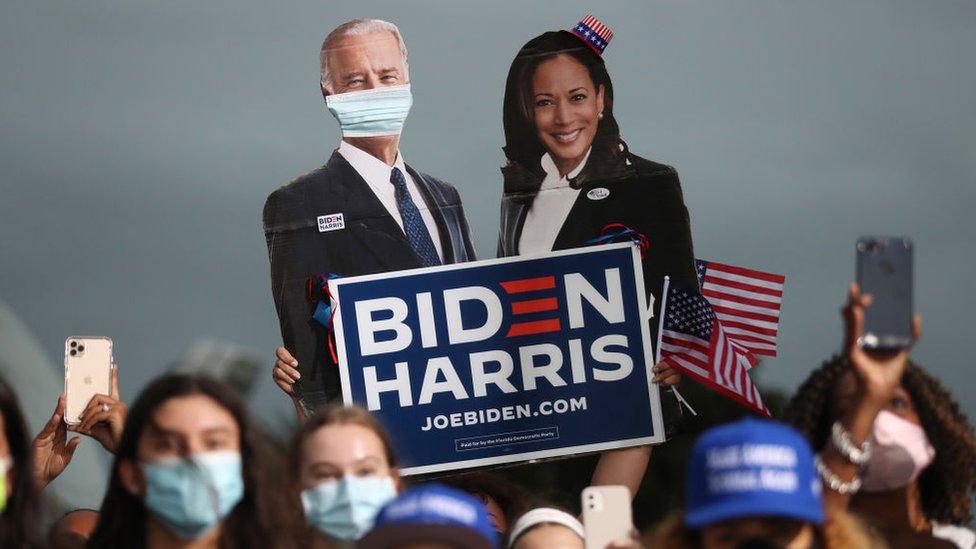 Biden-Kamala Harris, AS