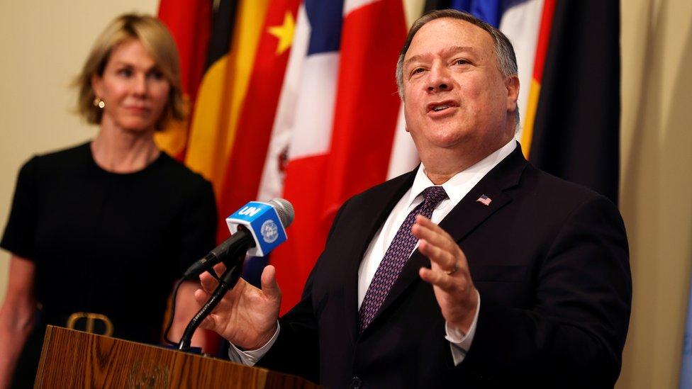 Iran nuclear deal: UN rejects US bid to 'snapback' Iran sanctions - BBC News
