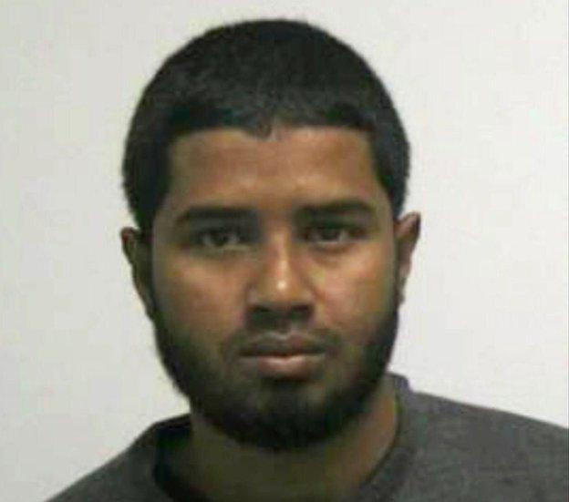 Akayed Ullah, a 27-year-old Bangladeshi immigrant.