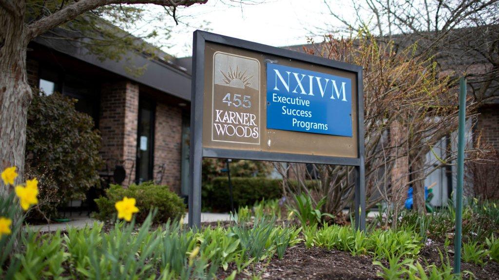 Oficina de NXIVM Programas de Éxito Ejecutivo en Albany, Nueva York.