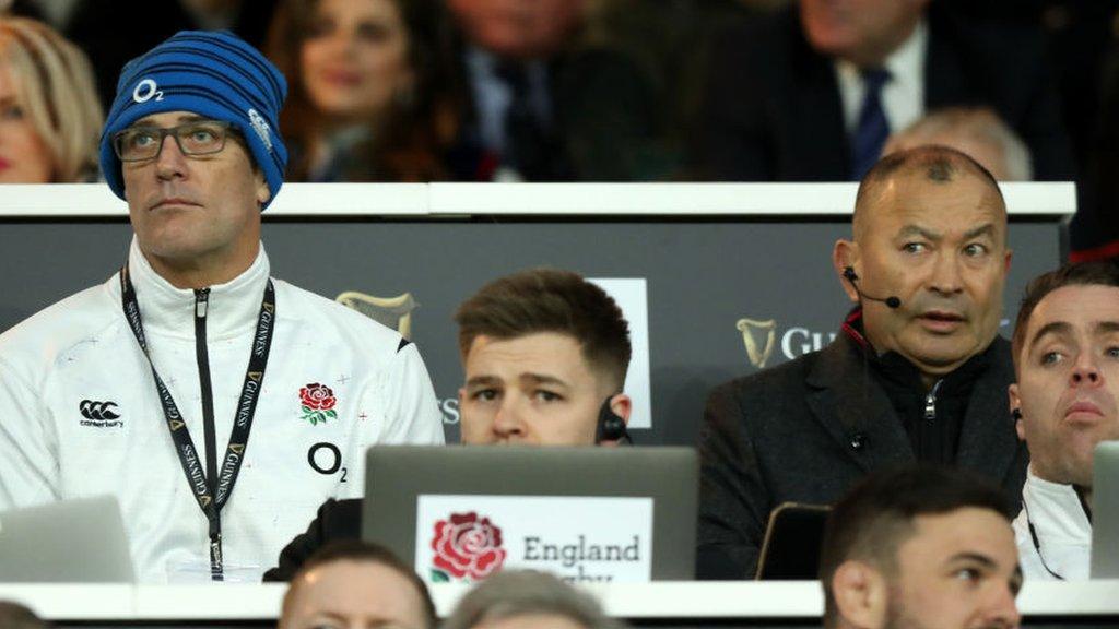 Eddie Jones and John Mitchell to lead England until at least 2021