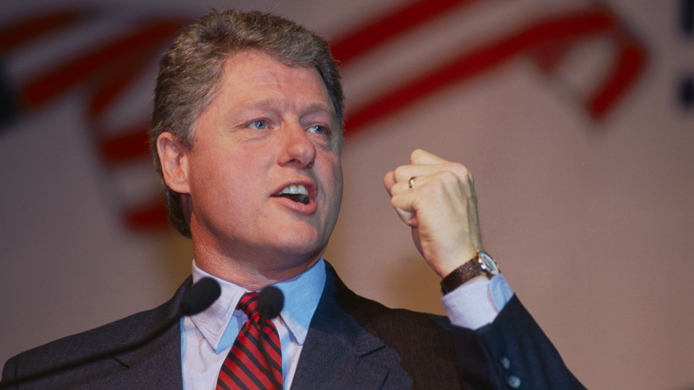 Bill Clinton en 1991