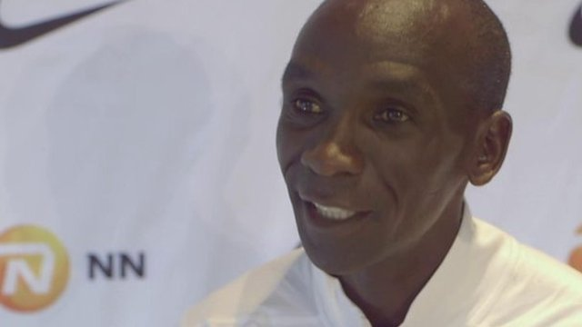 Marathon record will be broken again - Kipchoge