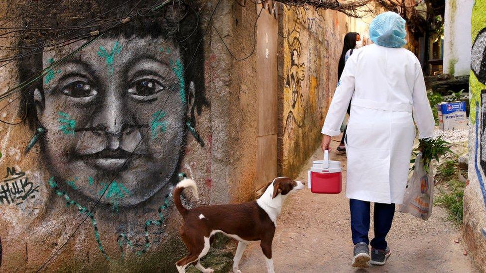 Vacunación en Brasil