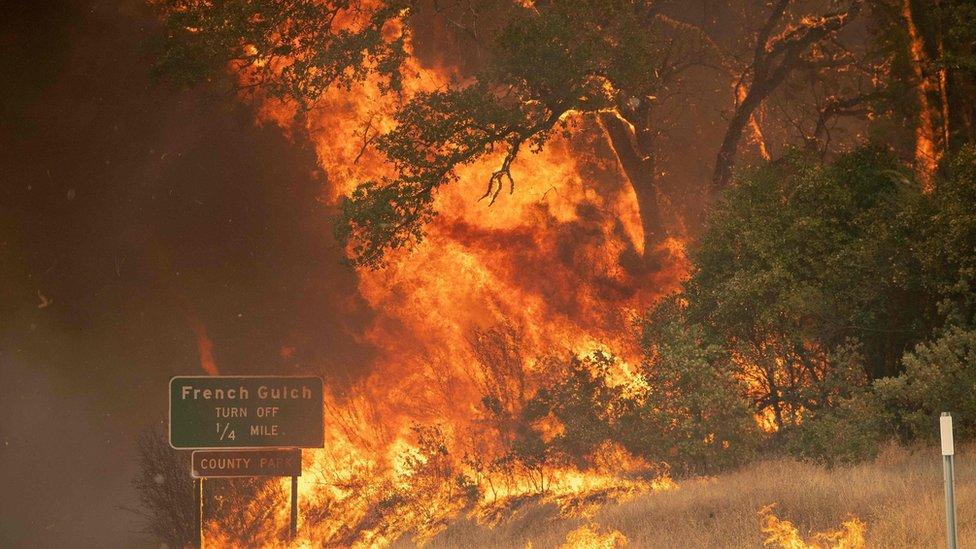 Incendio Carr en California