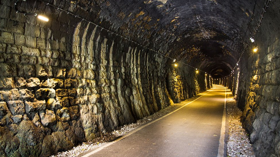 Devonshire tunnel after works