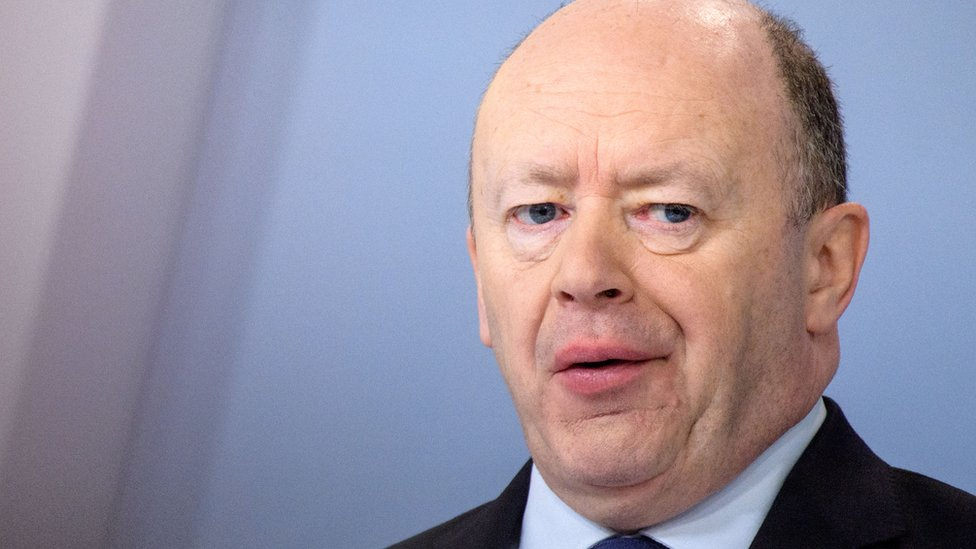 Deutsche Bank sacks British boss John Cryan after years of losses