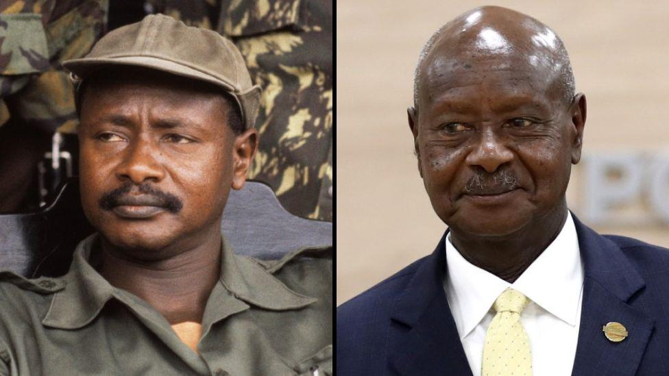 Yoweri Museveni swearing-in 2021: Uganda president begin im sixth term for  Kampala - BBC News Pidgin