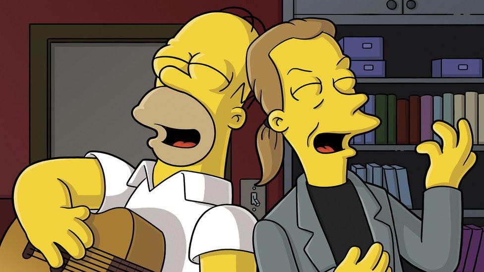 Bart Simpson y Declan Desmond