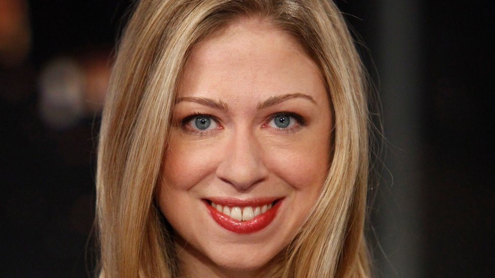 Chelsea Clinton: 'No-one asked dad to change his name'