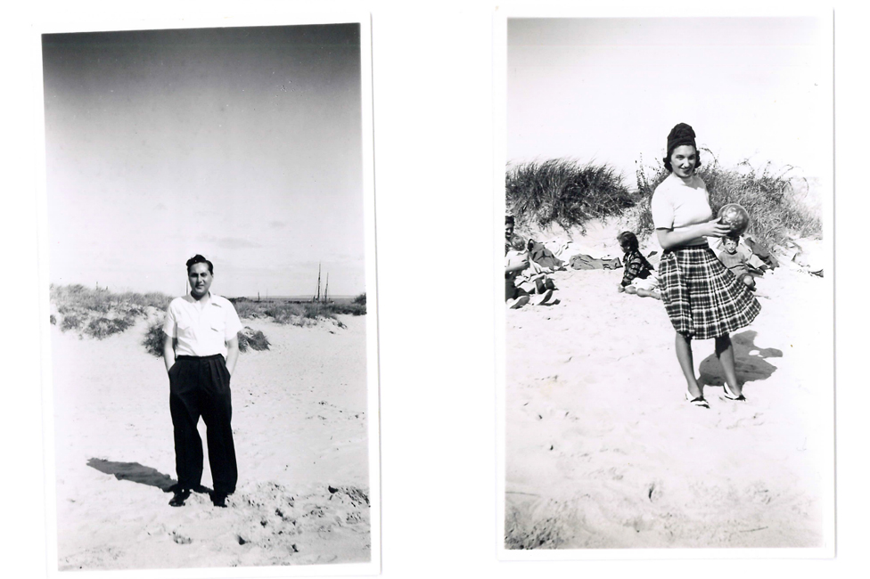Rafael i Feni na plaži