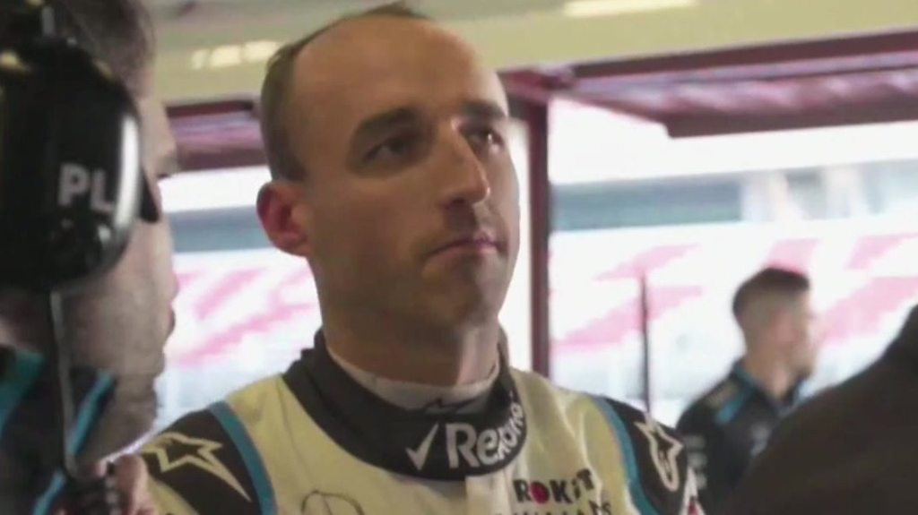 Racing driver Robert Kubica returns to Formula 1 after serious accident