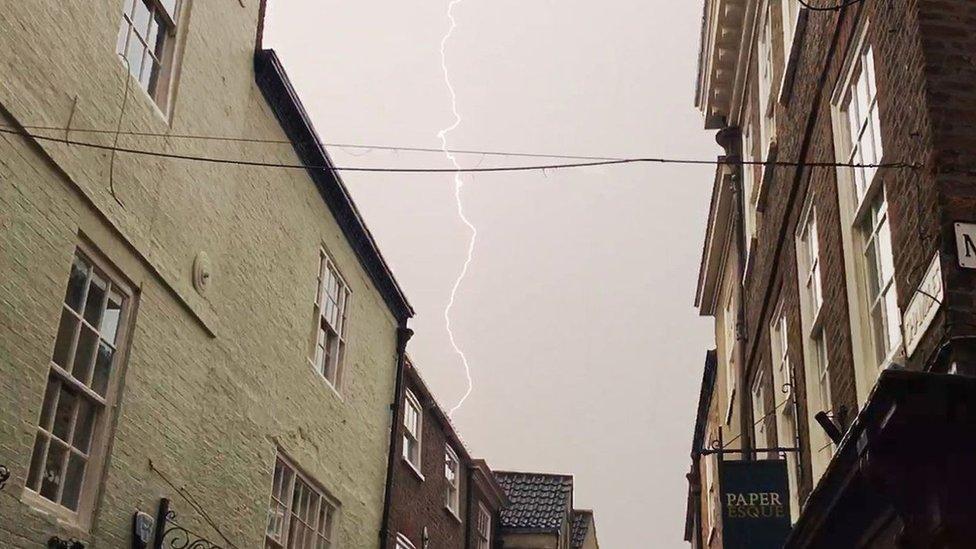 York lightning