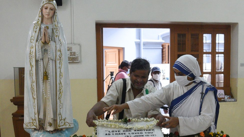 Congregación religiosa.