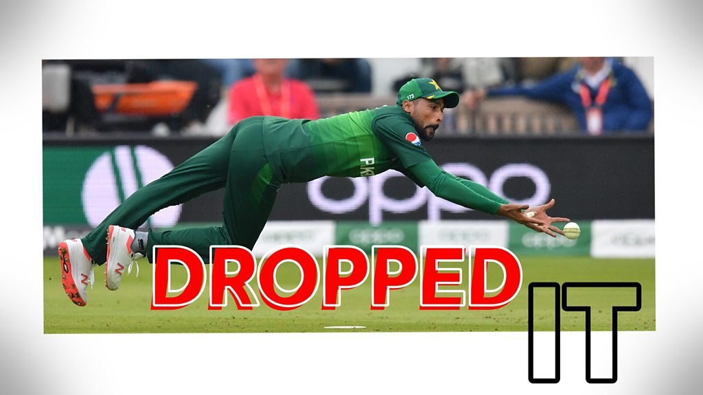 Cricket World Cup: Pakistan's five dropped catches in South Africa win