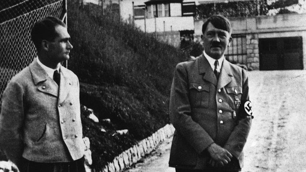 Hes i Hitler u Bavaskoj