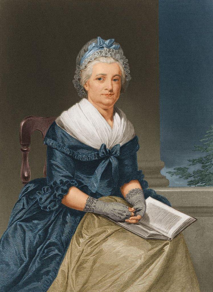 Retrato de Martha Washington