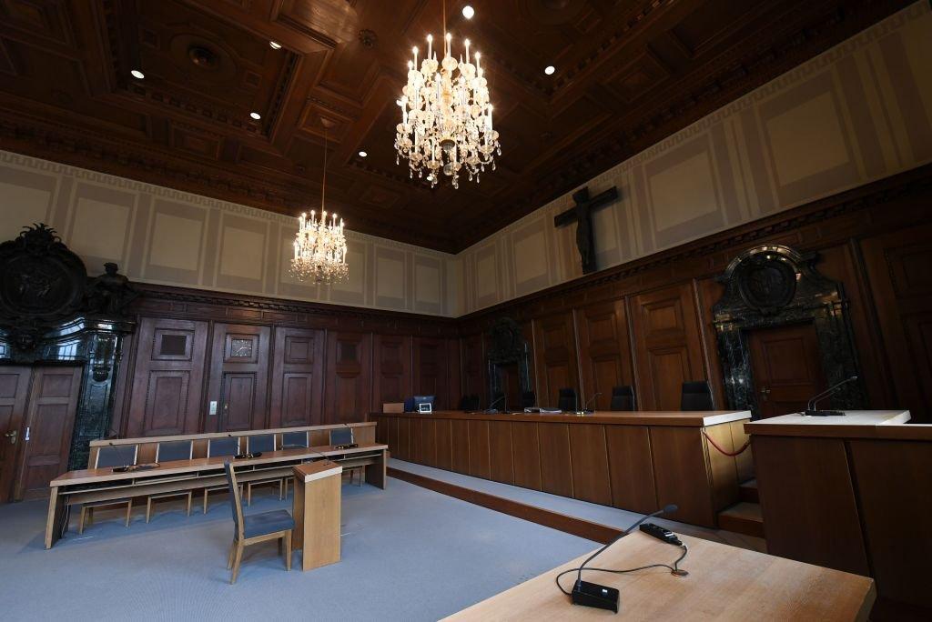 El tribunal en Núremberg como se ve en la actualidad