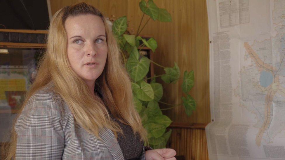 كانت مارينا أودغودسكايا، ولوقت قريب جدا، تعمل منظفة في مكتب السلطة المحلية في قرية بوفاليخينو