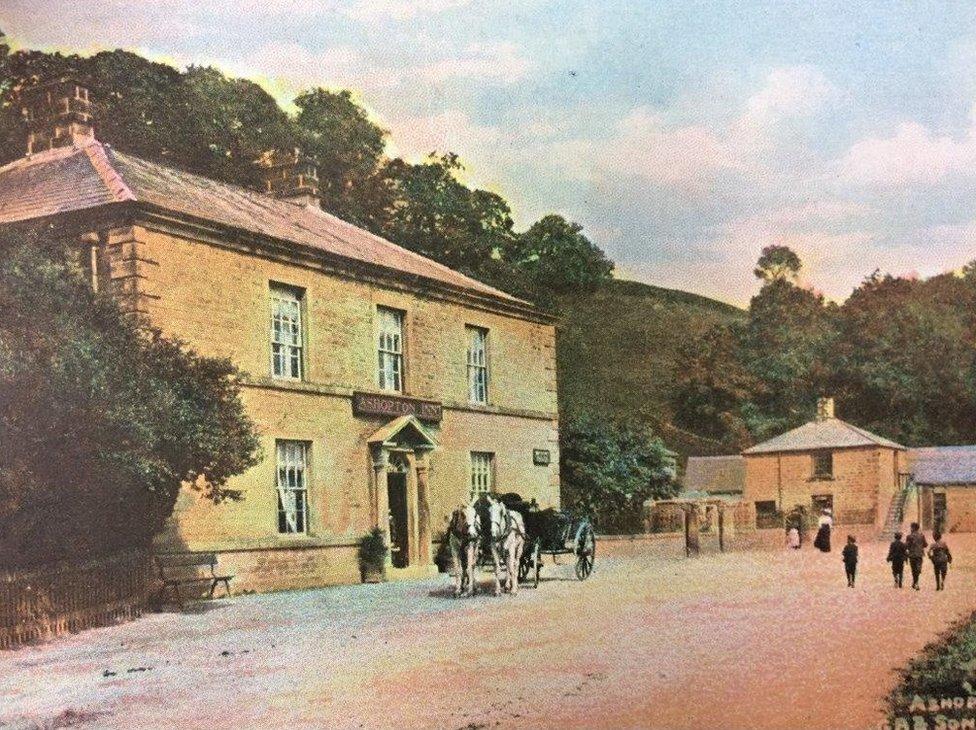 Postcard of Ashopton Inn