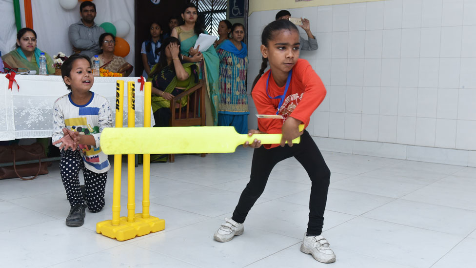 Cricket stumps sexism in India's schools