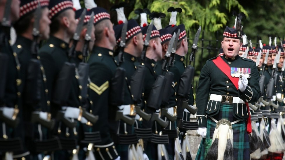 The 2nd Battalion Royal Highland Fusiliers The Royal Regiment of Scotland