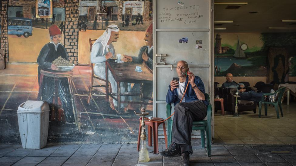 Cafe in Jaffa, Israel