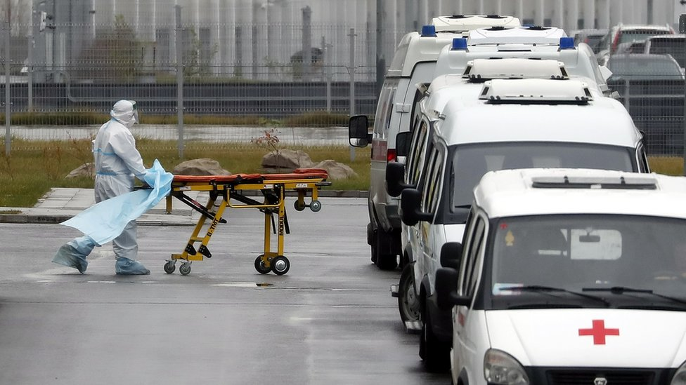 Коронавирус в России: число заболевших обновляет рекорд пятый день подряд