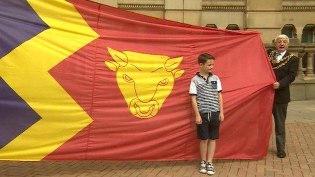 Birmingham community flag and its designer Thomas Keogh