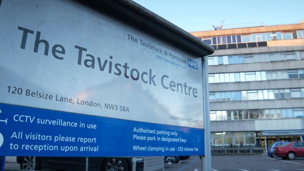 The Tavistock Centre sign