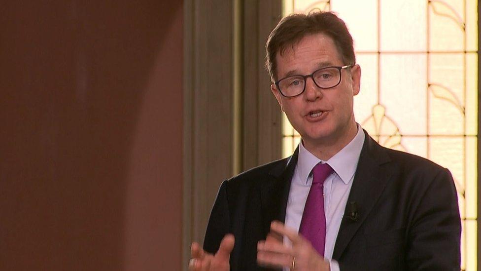 Sir Nick Clegg
