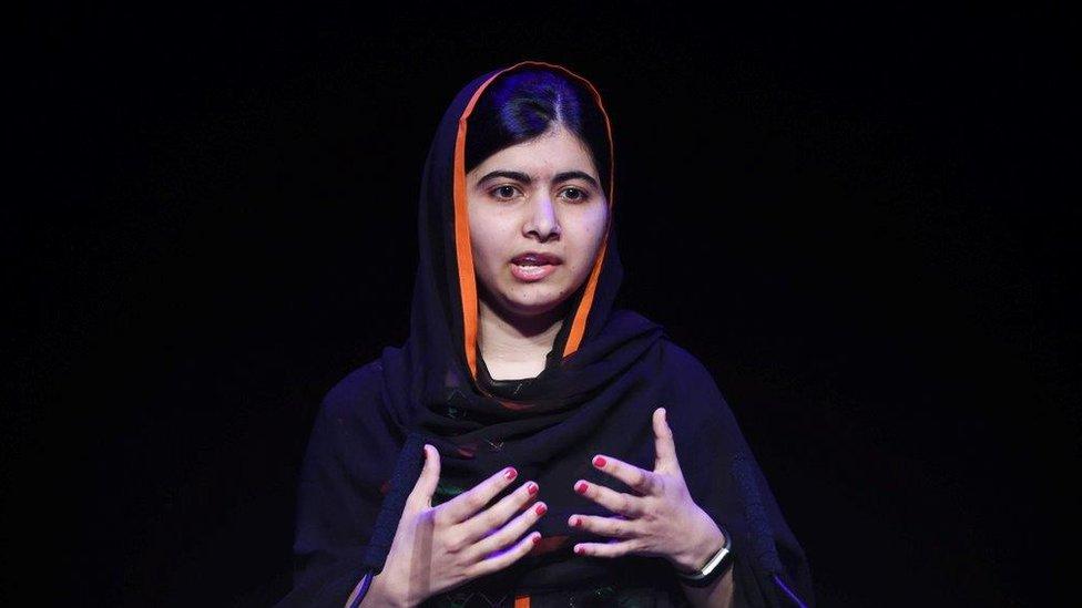 Malala at ASCL conference