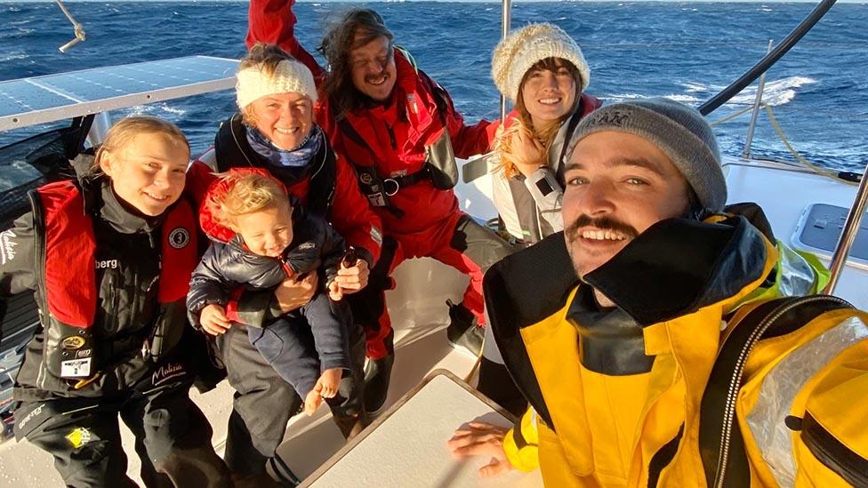 barco de Greta Thunberg