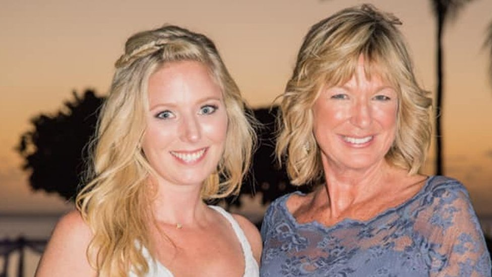 Claire and her mum