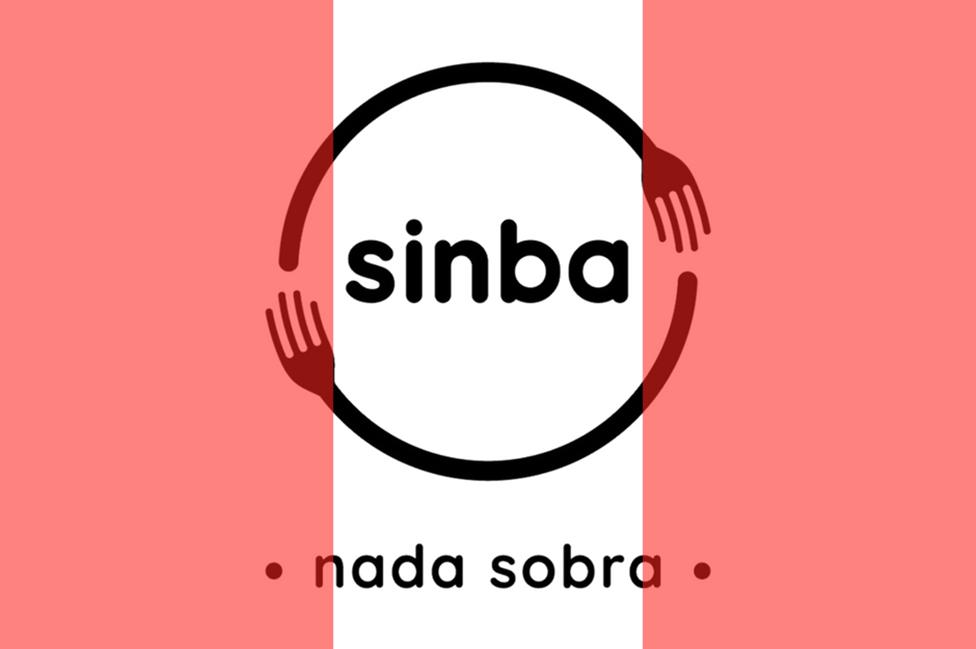 Logo de Sinba, con los colores de la bandera peruana
