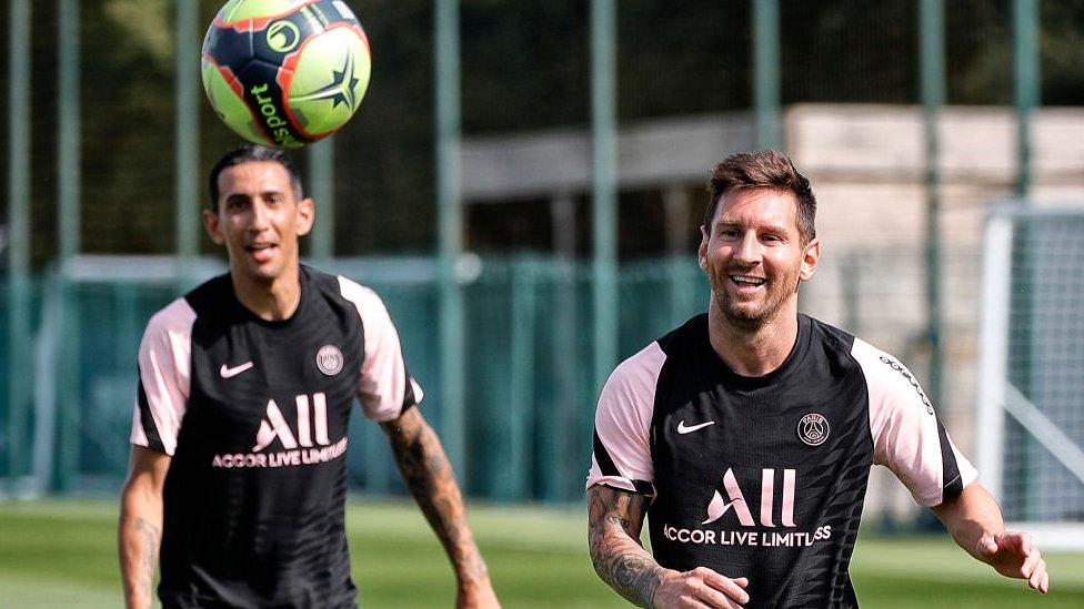 Di María y Messi