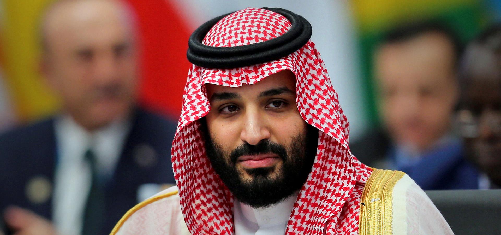 El príncipe heredero saudita Mohammed bin Salman