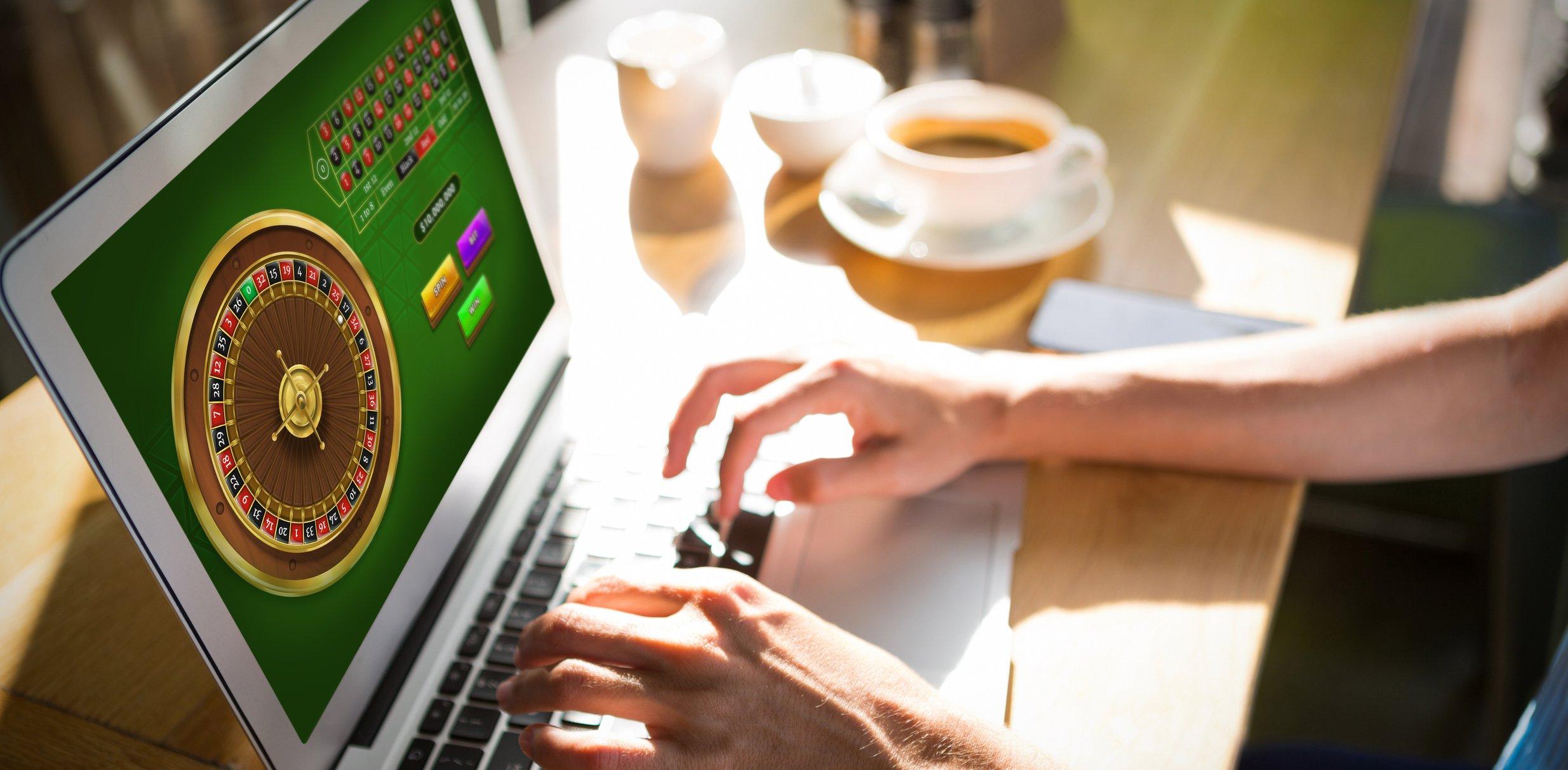 صورة للمقامرة على الإنترنت