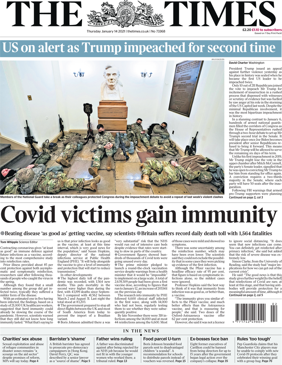 The Times 14 January