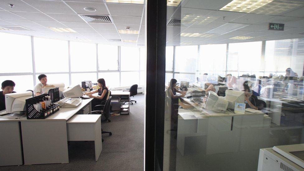 ladies in office