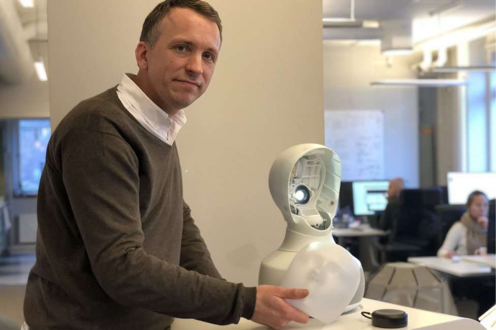 Furhat Robotics' chief scientist Gabriel Skantze