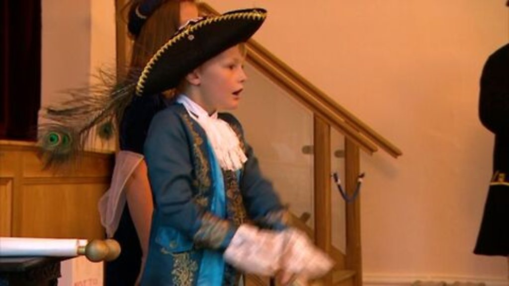 Meet the 'UK's youngest town crier' from Stoke Gabriel