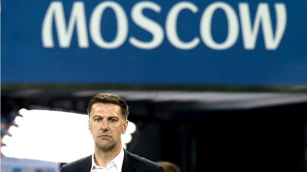 Krstajić na utakmici Srbija - Brazil, Moskva, 27. jun 2018.