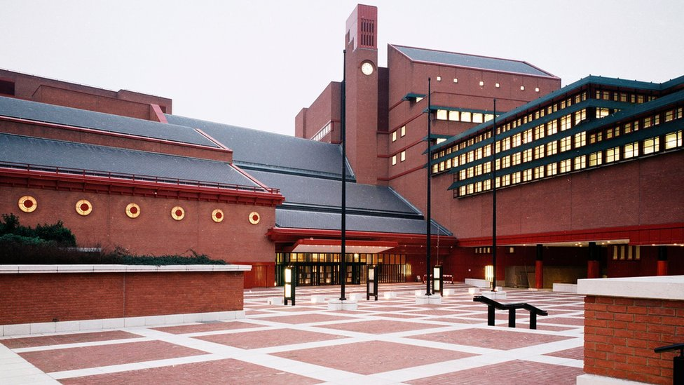 British Library front