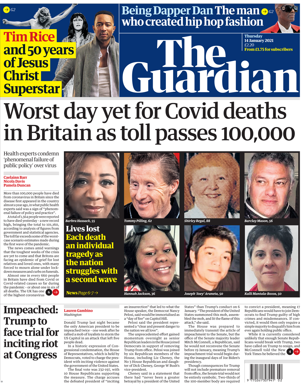 The Guardian 14 January