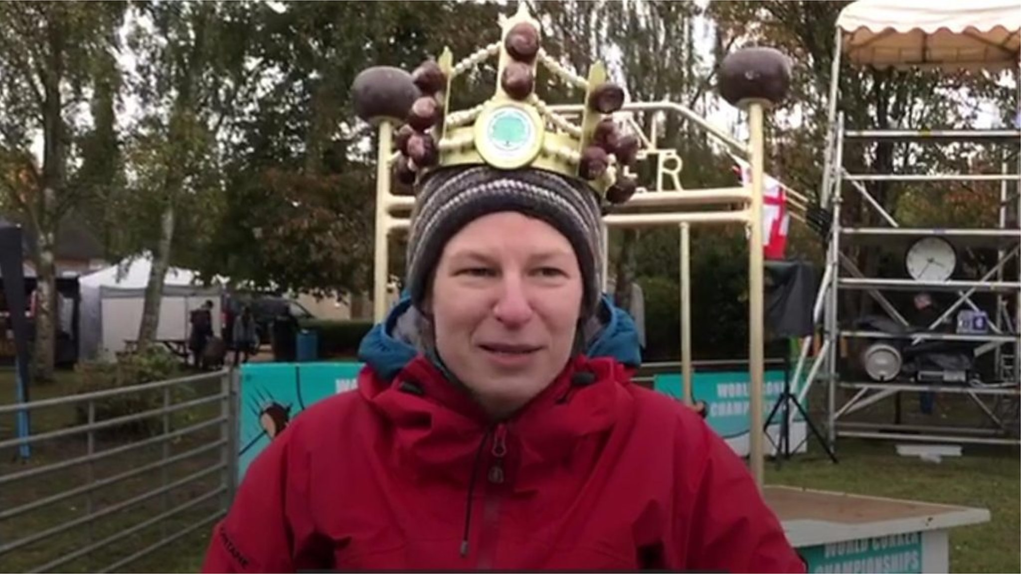 World Conker Champion 'practised for 20 minutes'