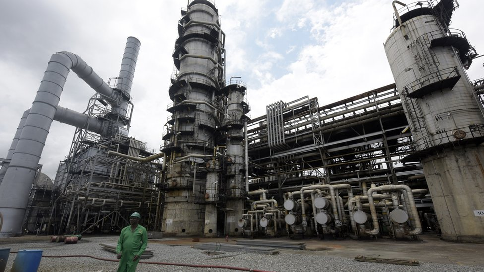 Port Harcourt is Nigeria's oldest oil refinery built in 1965.