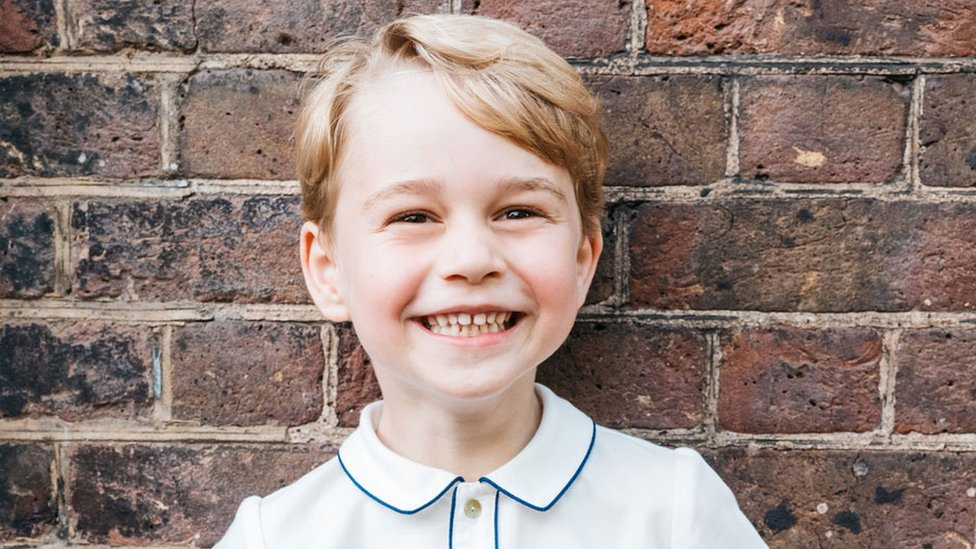 Picture marks Prince George's fifth birthday
